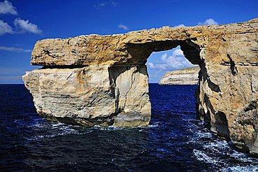 Azure Window, Dwejra Bay, Saint Lawrence, Gozo island, Malta, Europe