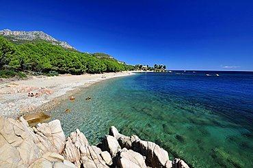 Beach, Santa Maria Navarrese, Baunei, Sardinia, Italy, Europe
