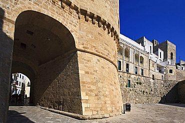 Alfonsina tower, Otranto, Salento, Apulia, Italy