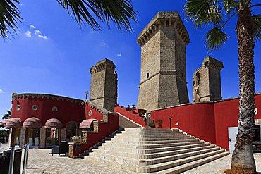 Quattro colonne, Santa Maria al Bagno, Salento, Apulia, Italy