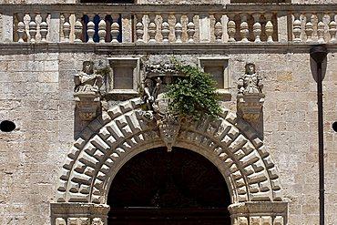 Risolo palace, Specchia, Salento, Apulia, Italy