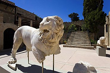 Archaeological museum, Rhodes, Dodecanese, Greek Islands, Greece, Europe