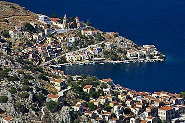 Cityscape, Symi, Dodecanese, Greek Islands, Greece, Europe