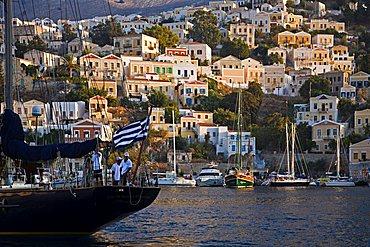 Harbour, Symi, Dodecanese, Greek Islands, Greece, Europe