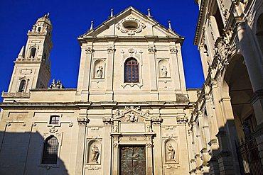 Cattedrale dell'Annunziata church, Lecce, Apulia, Italy, Europe