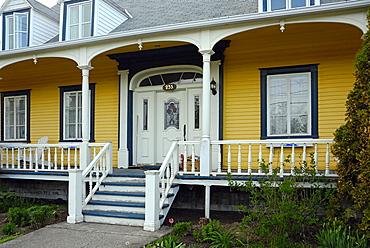 Tyical house, Gaspesie, Gaspe peninsula, Quebec, Canada, North America