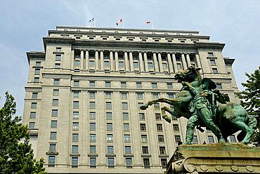 Place du Canada, Montreal, Quebec, Canada, North America