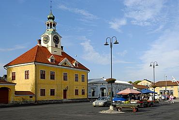 Kauppatori market square, Rauma, Satakunta, Finland, Scandinavia, Europe