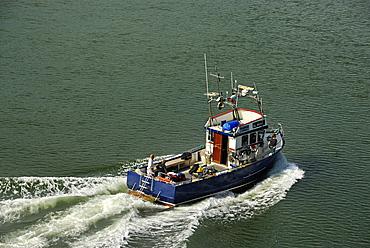 Fishing boat, Aland, Finland, Scandinavia, Europe