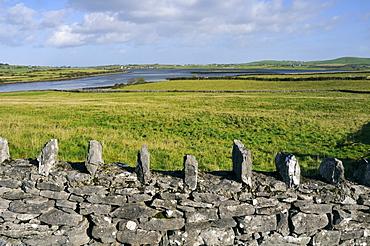 Dry wall, urren, County Down, Northern Ireland, Republic of Ireland, Europe