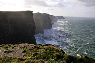 Cliffs of Moher, Burren, County Down, Northern Ireland, Republic of Ireland, Europe