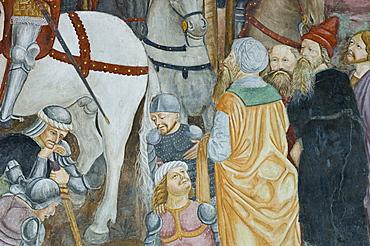 santa maria delle grazie frescoes, bellinzona, switzerland
