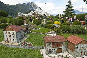svizzera in muniatura, swissminiatur, melide, switzerland