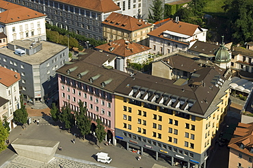 historical centre, bellinzona, switzerland