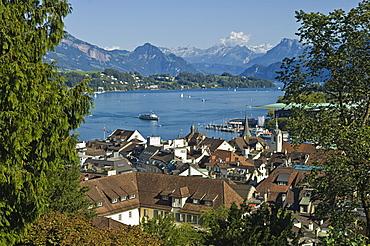 town view, lucerne, switzerland