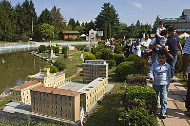 minitalia leolandia, ricreation ground, capriate, italy