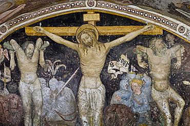 cappella marinoni: fresco, cerete basso, italy