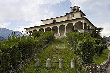 sanctuary, ardesio, italy
