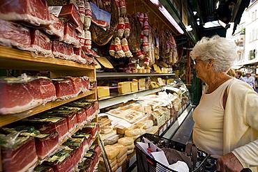 Market, Stalls, Bolzano, Trentino Alto Adige, Italy
