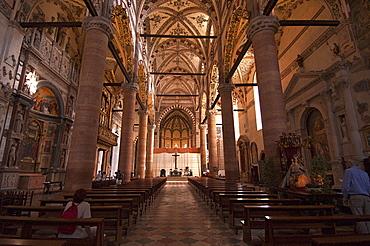 Sant' Anastasia Church, Verona, Veneto, Italy