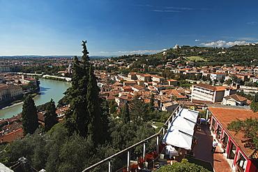 View of Verona, Veneto, Italy, Europe