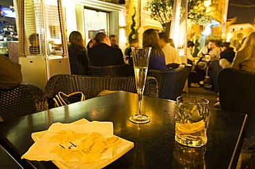 Cocktail on the Art Cafe, La Maddalena, Olbia - Tempio district, Sardinia, Italy, Europe