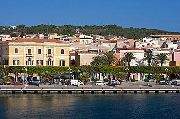 Harbour Carloforte, St Pietro Island, Carbonia - Iglesias district, Sardinia, Italy, Europe