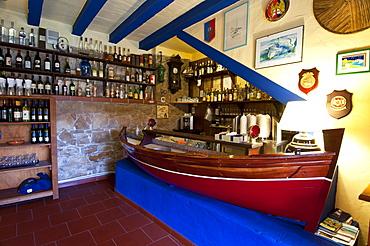 Daubobba Restaurant, Carloforte, St Pietro Island, Sulcis, Iglesiente, Carbonia Iglesias, Sardinia, Italy, Europe