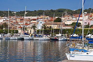 Harbour of Carloforte, St Pietro Island, Sulcis Iglesiente, Carbonia Iglesias, Sardinia, Italy, Europe