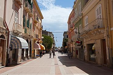 Cityscape of Carloforte, St Pietro Island, Sulcis Iglesiente, Carbonia Iglesias, Sardinia, Italy, Europe