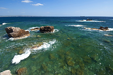 St Pietro Island landscape, Carloforte, St Pietro Island, Sulcis Iglesiente, Carbonia Iglesias, Sardinia, Italy, Europe