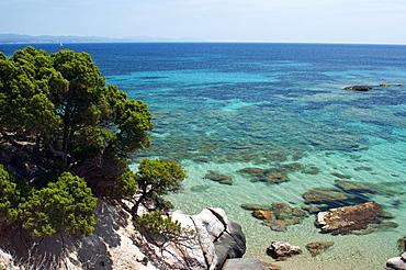 Genio beach,Carloforte, St Pietro Island, Sulcis Iglesiente, Carbonia Iglesias, Sardinia, Italy, Europe