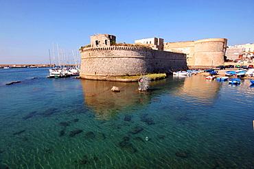 Angioino castle, Gallipoli, Salentine Peninsula, Apulia, Italy