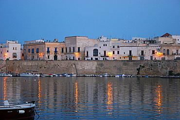 Foreshortening, Gallipoli, Salentine Peninsula, Apulia, Italy