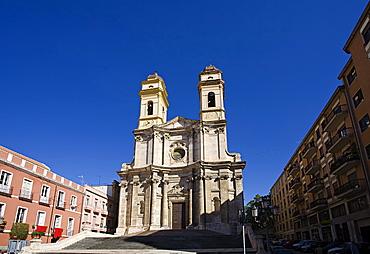 San Michele church, Cagliari,Sardinia,Italy,Europe.