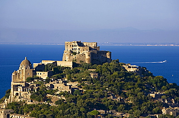 Aragonese castle,Ischia island,Campania,Naples,Italy,Europe.