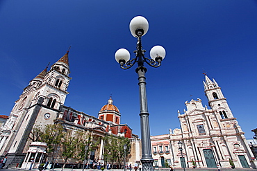 Piazza Duomo, cathedarl square, Acireale, Catania, Sicily, Italy, Europe