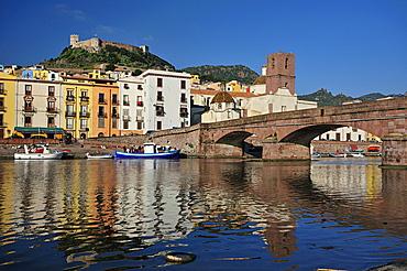 Bosa, Sardinia, Temo river, Italy, Europe