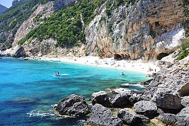 Cala Mariolu, Ispuligi de nie, Baunei, Ogliastra, Sardinia, Italy, Europe