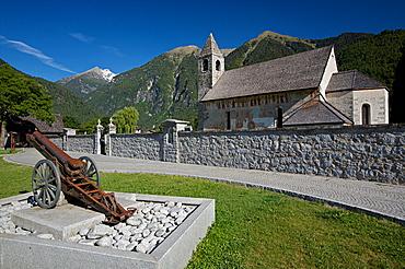 San Vigilio church at Pinzolo, Rendena valley, Giudicarie, Trentino Alto Adige, Italy, Europe