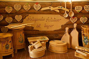 workshop Marchetti Antonella at Bolbeno, Rendena valley, Trentino, Italy, Europe,