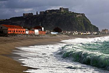 Seaside, milazzo, Sicily, Italy, Europe