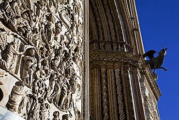 Cathedral, Orvieto, Umbria, Italy, Europe