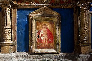 Altar, Forza d'Agro, Sicily, Italy, Europe