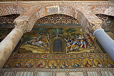 Cappella Palatina chapel, Palermo, Sicily, Italy, Europe