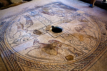Insula Romana, Archeological site, Marsala, Sicily, Italy, Europe
