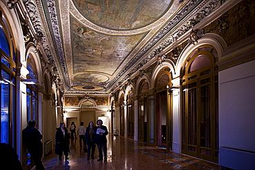 Sangiorgi theatre, Catania, Sicily, italy, Europe