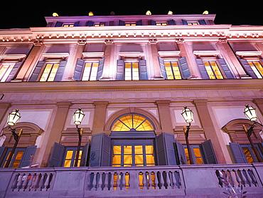 Facade, Villa Reale, Royal Villa, Monza, Brianza, Lombardy, Italy, Europe