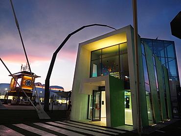 Moldavia Pavilion, EXPO 2015, Milan, Lombardy, Italy, Europe