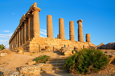 Temple of Concord; Valley of the Temples, Agrigento, Sicily, Italy, Europe